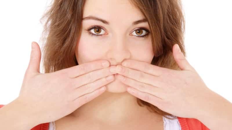 Язвенный стоматит — некротический стоматит Венсана, лечение, фото